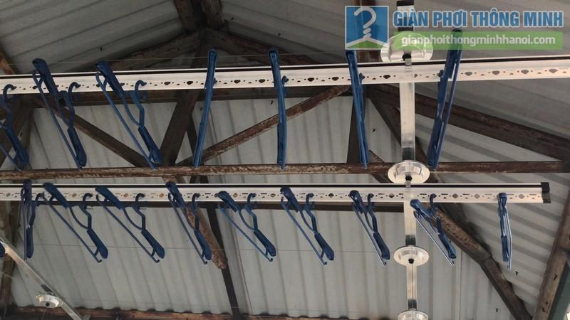 Lắp giàn phơi Hòa phát Air gp701 nhà anh Vinh, Phú Đô, Nam Từ Liêm, Hà Nội - 11