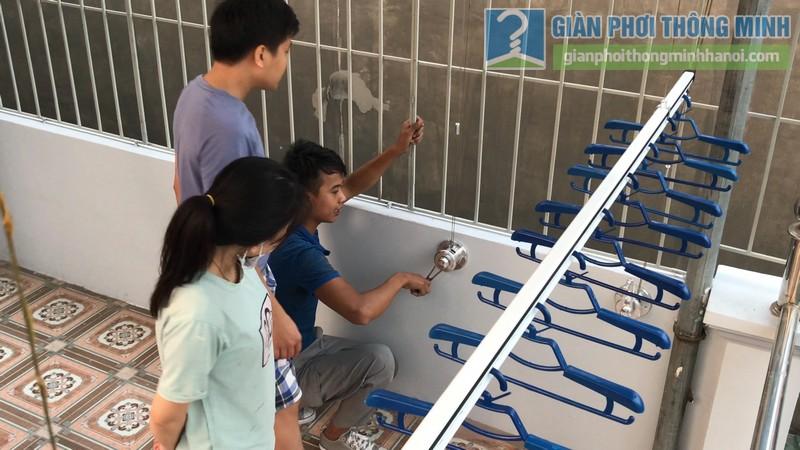 Lắp giàn phơi Hòa phát Air gp701 nhà anh Vinh, Phú Đô, Nam Từ Liêm, Hà Nội - 13