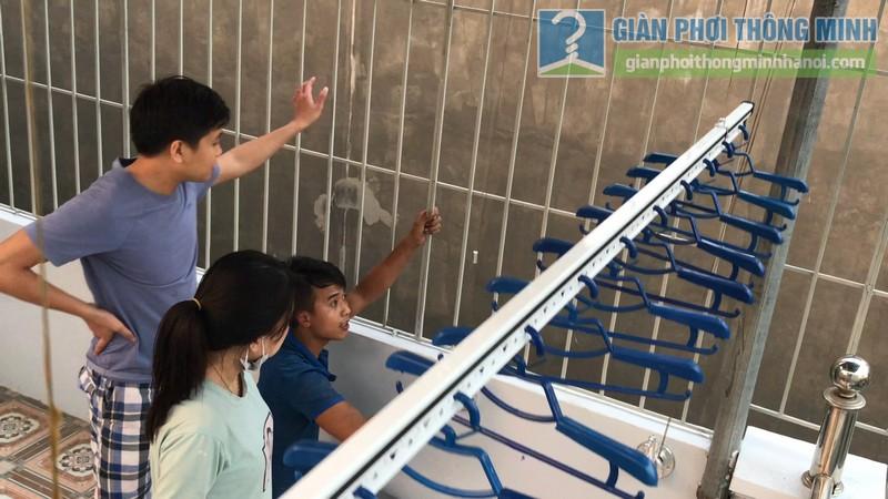 Lắp giàn phơi Hòa phát Air gp701 nhà anh Vinh, Phú Đô, Nam Từ Liêm, Hà Nội - 14