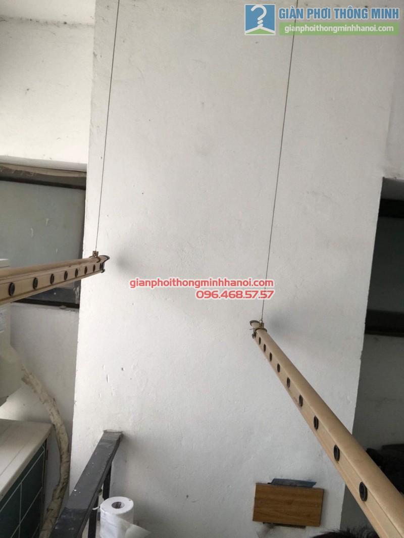 Sửa giàn phơi thông minh nhà chị Tươi, chung cư Capital Garden, 102 Trường Trinh, Đống Đa, Hà Nội - 05
