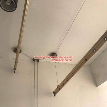 Sửa chữa giàn phơi thông minh nhà chị Tươi, chung cư Capital Garden 102 Trường Trinh, Đống Đa, Hà Nội