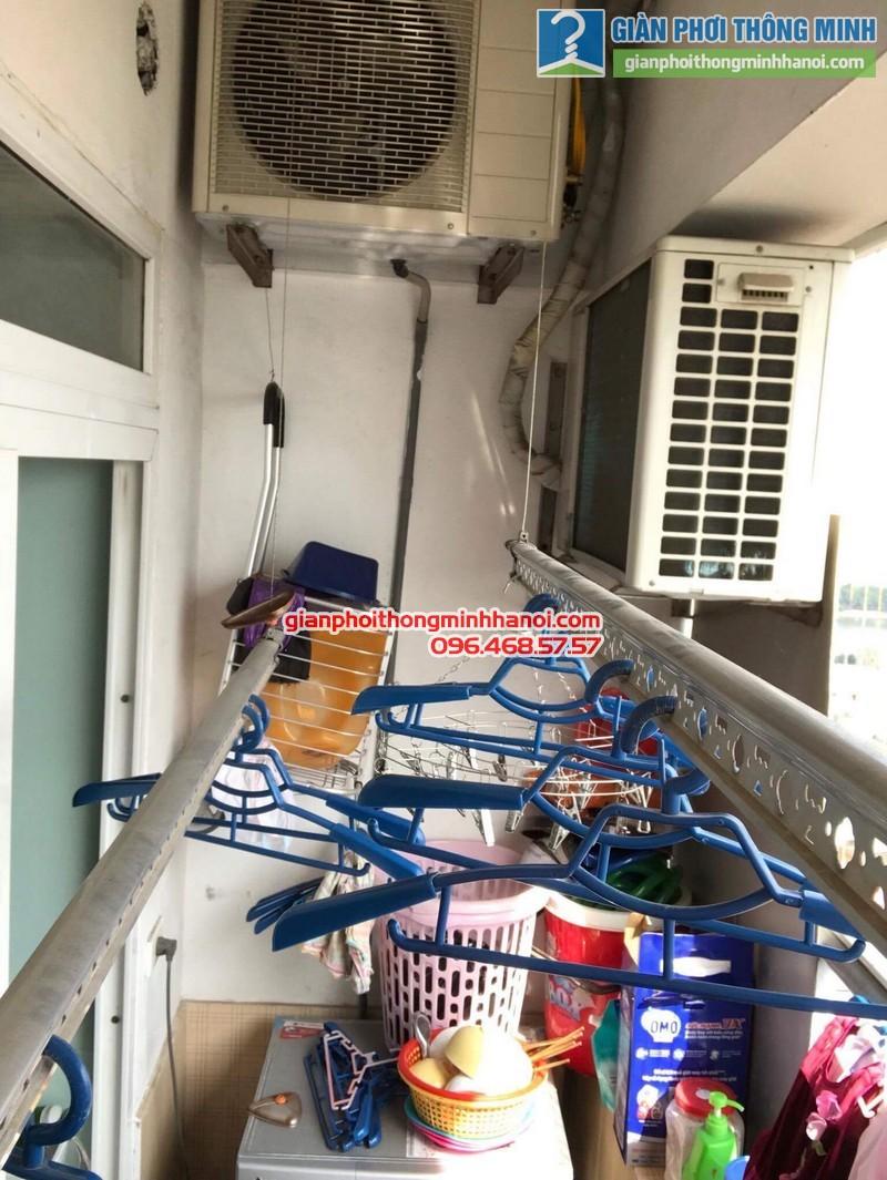 Sửa giàn phơi tại Hoàng Mai nhà anh Nhật, chung cư VP3 Linh Đàm - 01