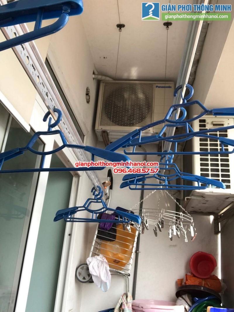 Sửa giàn phơi tại Hoàng Mai nhà anh Nhật, chung cư VP3 Linh Đàm - 02
