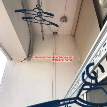 Sửa giàn phơi tại Hoàng Mai, nhà anh Nhật, chung cư VP3 Linh Đàm