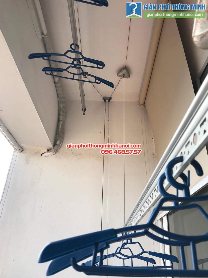 Sửa giàn phơi tại Hoàng Mai nhà anh Nhật, chung cư VP3 Linh Đàm - 09