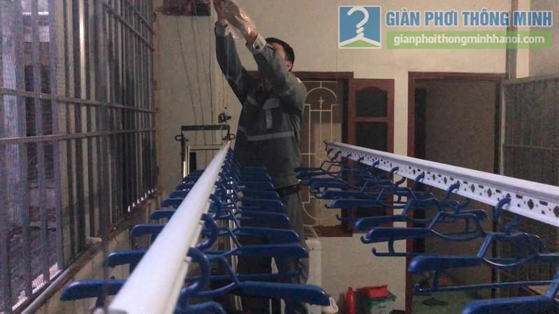 Lắp giàn phơi điện tự động nhà chị Hậu, Cầu giấy, Hà Nội - 08