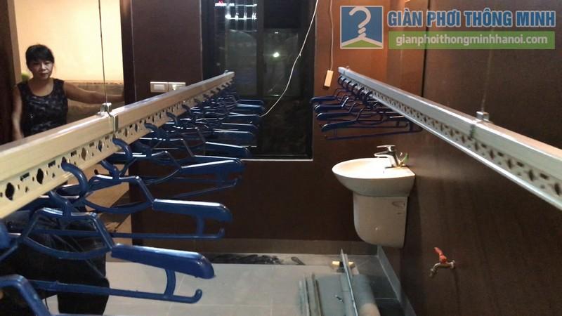 Lắp giàn phơi điện tự động tại Thanh Xuân nhà chị Luận, ngõ 6 Quan Nhân - 10