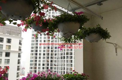 Lắp giàn phơi thông minh tại Royal City nhà chị Hoa, P12A17 tòa R1