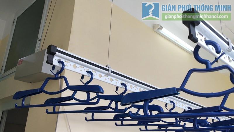 Lắp giàn phơi điện tự động Vinadry nhà anh Trường, ngõ 105 Bạch Mai, Hai Bà Trưng, Hà Nội - 02