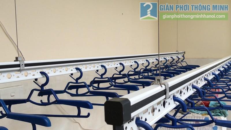 Lắp giàn phơi điện tự động Vinadry nhà anh Trường, ngõ 105 Bạch Mai, Hai Bà Trưng, Hà Nội - 03