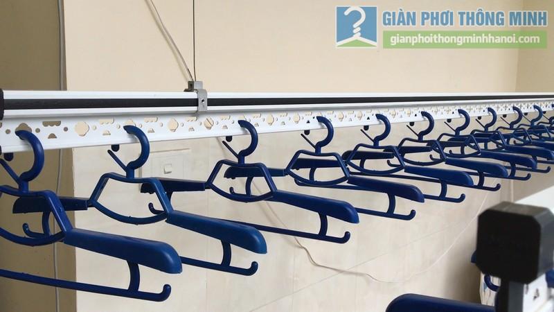 Lắp giàn phơi điện tự động Vinadry nhà anh Trường, ngõ 105 Bạch Mai, Hai Bà Trưng, Hà Nội - 05