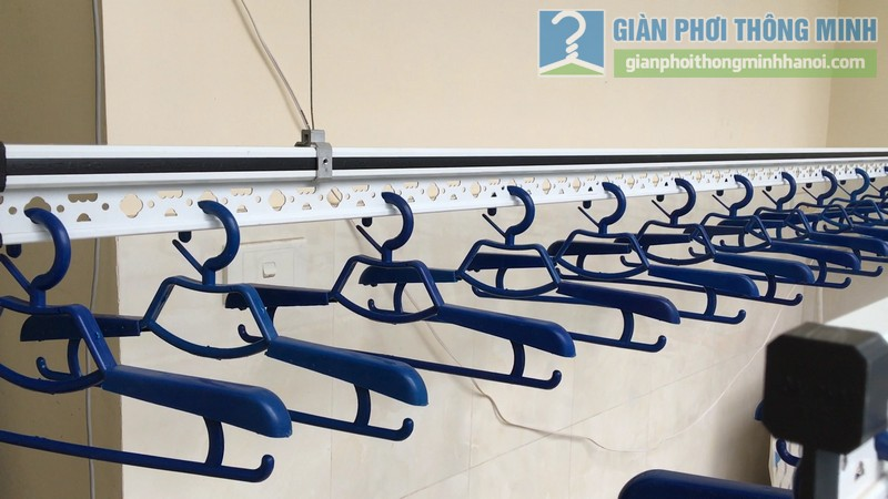 Lắp giàn phơi điện tự động Vinadry nhà anh Trường, ngõ 105 Bạch Mai, Hai Bà Trưng, Hà Nội - 04