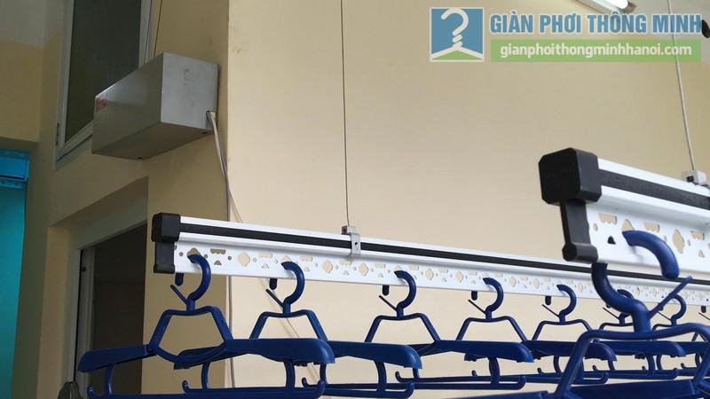 Lắp giàn phơi điện tự động Vinadry nhà anh Trường, ngõ 105 Bạch Mai, Hai Bà Trưng, Hà Nội - 06