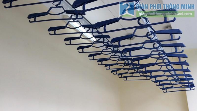 Lắp giàn phơi điện tự động Vinadry nhà anh Trường, ngõ 105 Bạch Mai, Hai Bà Trưng, Hà Nội - 09