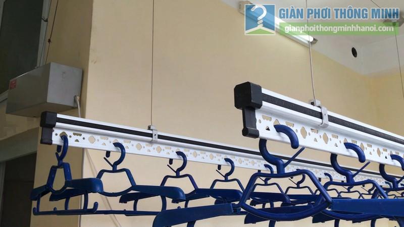 Lắp giàn phơi điện tự động Vinadry nhà anh Trường, ngõ 105 Bạch Mai, Hai Bà Trưng, Hà Nội - 10