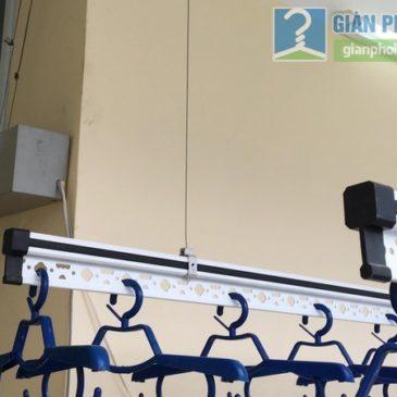 Giàn phơi điện tự động Vinadry lắp tại nhà anh Trường, ngõ 105 Bạch Mai, Hai Bà Trưng, Hà Nội