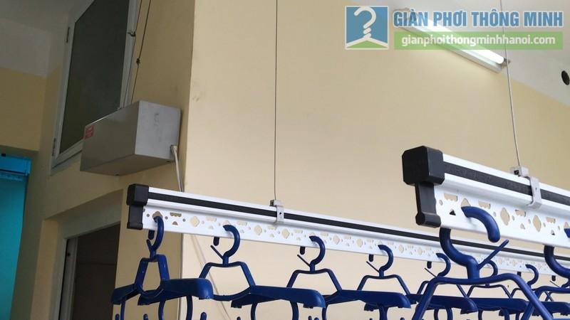 Lắp giàn phơi điện tự động Vinadry nhà anh Trường, ngõ 105 Bạch Mai, Hai Bà Trưng, Hà Nội - 11