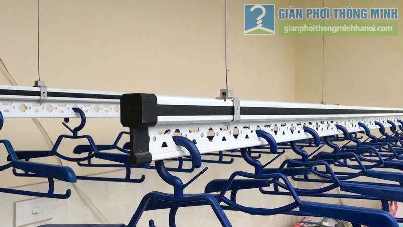 Lắp giàn phơi điện tự động Vinadry nhà anh Trường, ngõ 105 Bạch Mai, Hai Bà Trưng, Hà Nội - 12