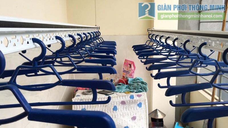 Lắp giàn phơi điện tự động Vinadry nhà anh Trường, ngõ 105 Bạch Mai, Hai Bà Trưng, Hà Nội - 13