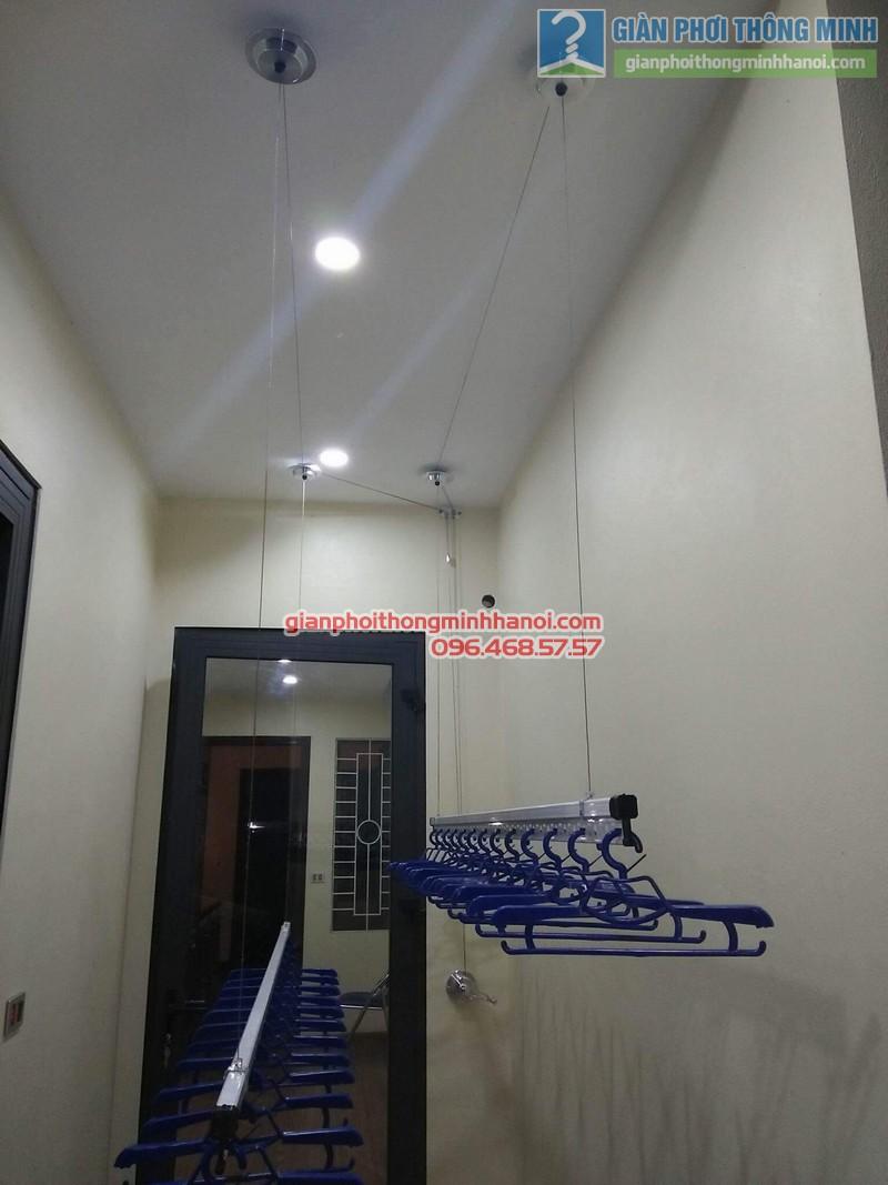 Lắp giàn phơi Hòa Phát Air 701 nhà anh Chiến, Xã Phù Lỗ, Sóc Sơn, Hà Nội - 07