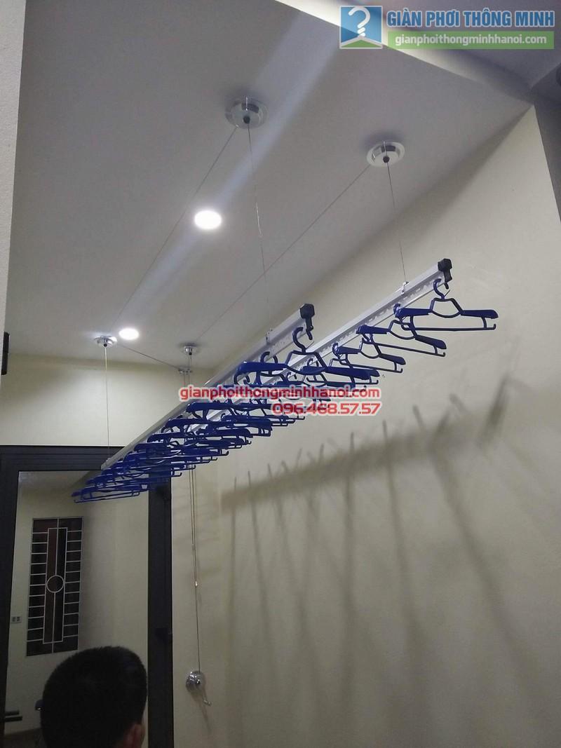 Lắp giàn phơi Hòa Phát Air 701 nhà anh Chiến, Xã Phù Lỗ, Sóc Sơn, Hà Nội - 09