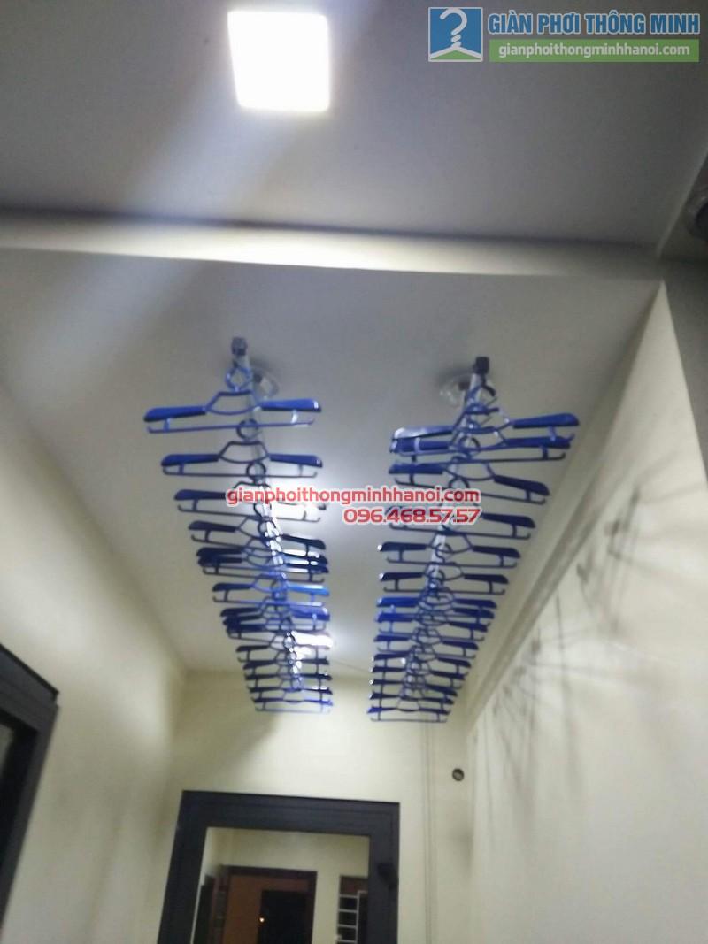Lắp giàn phơi Hòa Phát Air 701 nhà anh Chiến, Xã Phù Lỗ, Sóc Sơn, Hà Nội - 10