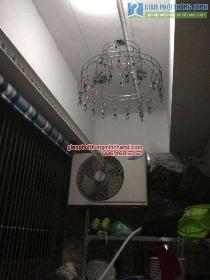 Lắp giàn phơi Hoàng Mai bộ 999B nhà chị Ngoan, chung cư HH1 Linh Đàm - 07