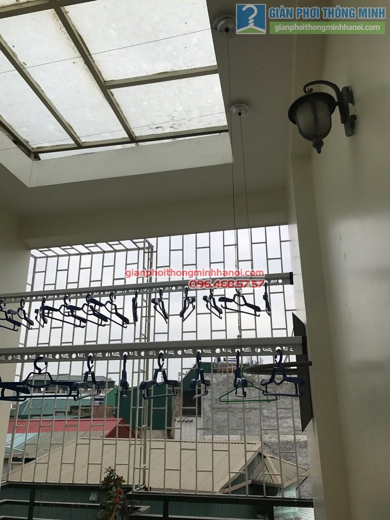 Lắp giàn phơi Ba Đình tại nhà anh Nghĩa, ngách 135/73 Đội Cấn - 01