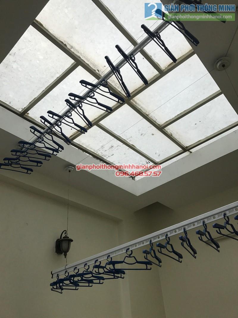 Lắp giàn phơi Ba Đình tại nhà anh Nghĩa, ngách 135/73 Đội Cấn - 05