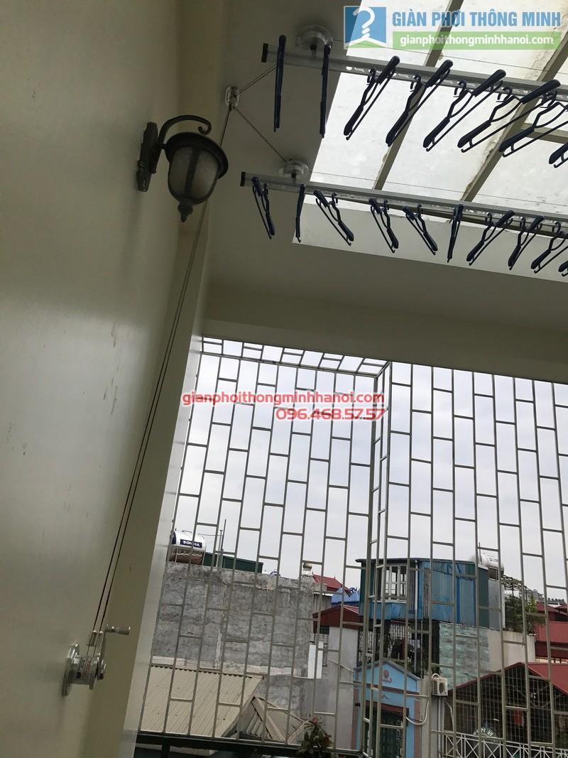 Lắp giàn phơi Ba Đình tại nhà anh Nghĩa, ngách 135/73 Đội Cấn - 07
