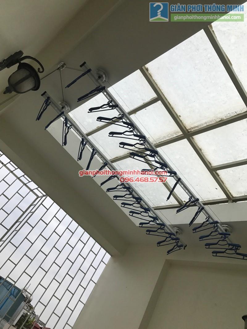 Lắp giàn phơi Ba Đình tại nhà anh Nghĩa, ngách 135/73 Đội Cấn - 08