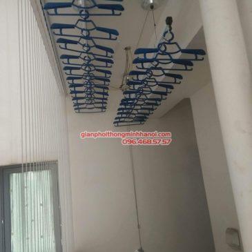 Lắp giàn phơi Hòa Phát Air 701 tại nhà chị Hảo, Chung cư Mulberry Lane, Hà Đông, Hà Nội