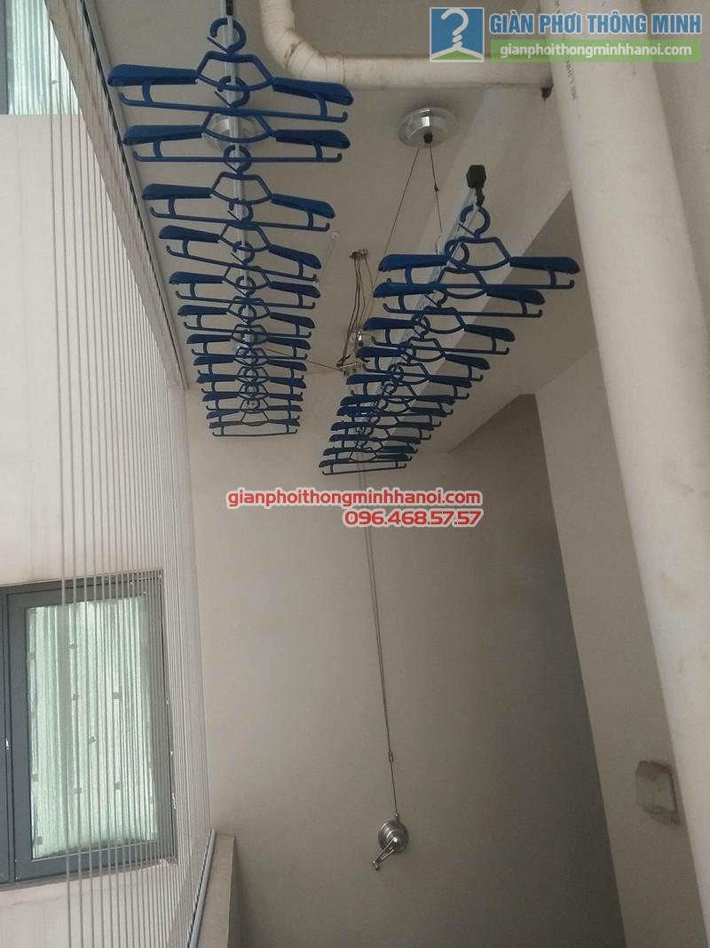 Lắp giàn phơi Hòa Phát Air 701 tại nhà chị Hảo, Chung cư Mulblerry Lane, Hà Đông, Hà Nội - 05