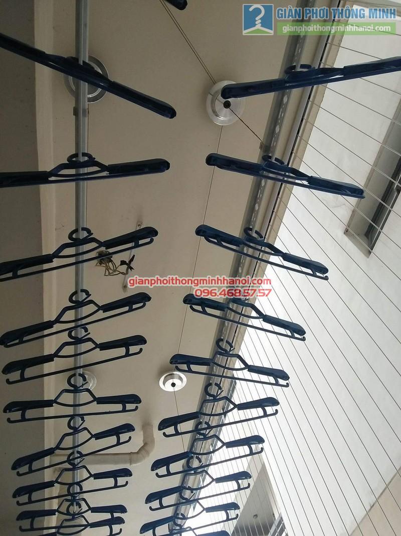 Lắp giàn phơi Hòa Phát Air 701 tại nhà chị Hảo, Chung cư Mulblerry Lane, Hà Đông, Hà Nội - 08