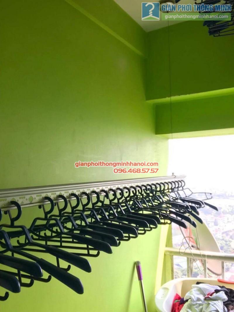 Sửa giàn phơi quần áo tại Hoàng Mai nhà chị Minh, chung cư VP5 Linh Đàm - 01