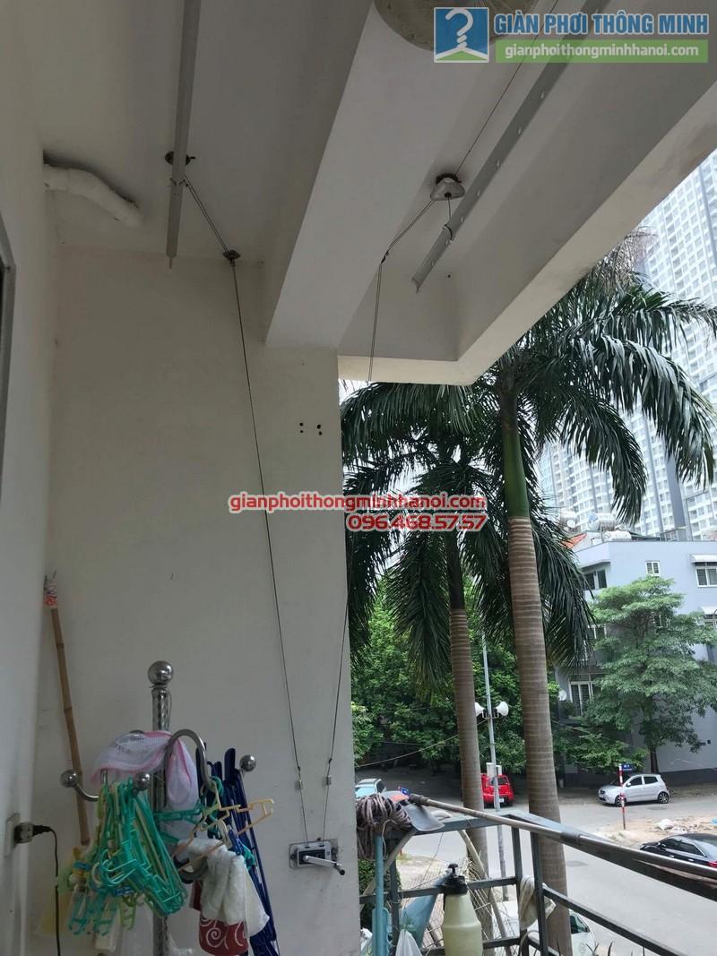 Sửa giàn phơi thông minh nhà cô Thể, chung cư An Lạc Mỹ Đình, Nam Từ Liêm, Hà Nội - 02