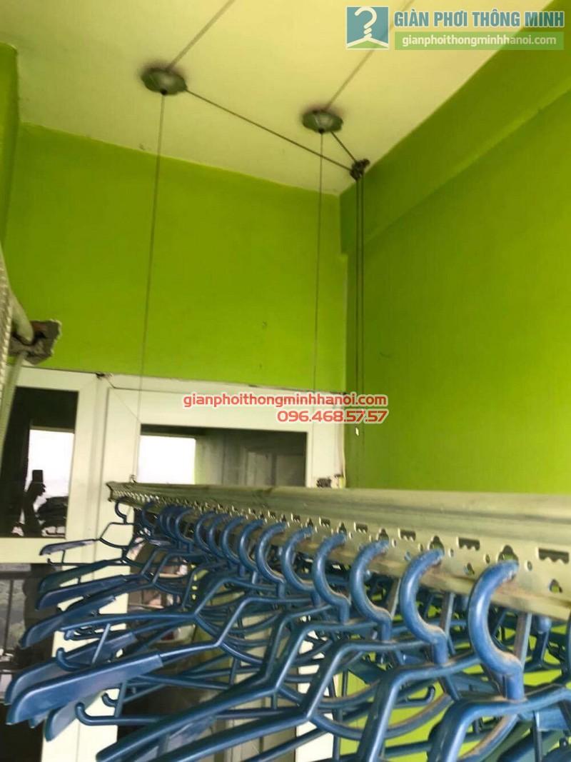 Sửa giàn phơi quần áo tại Hoàng Mai nhà chị Minh, chung cư VP5 Linh Đàm - 03