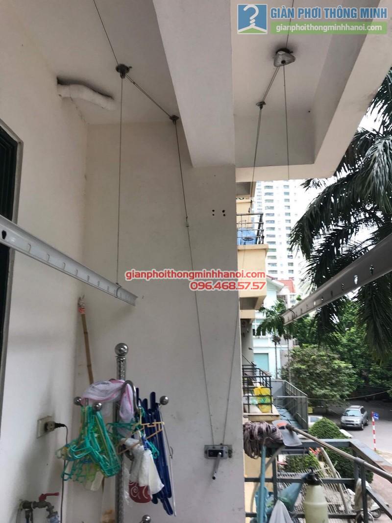 Sửa giàn phơi thông minh nhà cô Thể, chung cư An Lạc Mỹ Đình, Nam Từ Liêm, Hà Nội - 03