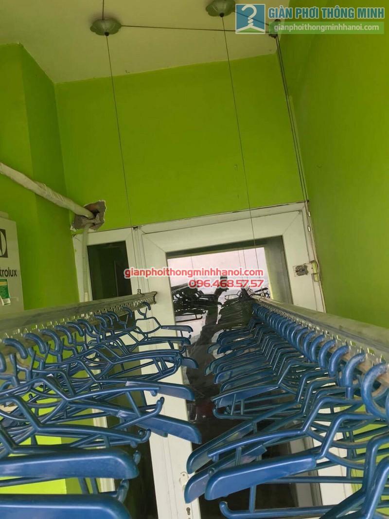 Sửa giàn phơi quần áo tại Hoàng Mai nhà chị Minh, chung cư VP5 Linh Đàm - 04