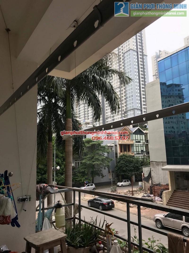 Sửa giàn phơi thông minh nhà cô Thể, chung cư An Lạc Mỹ Đình, Nam Từ Liêm, Hà Nội - 05