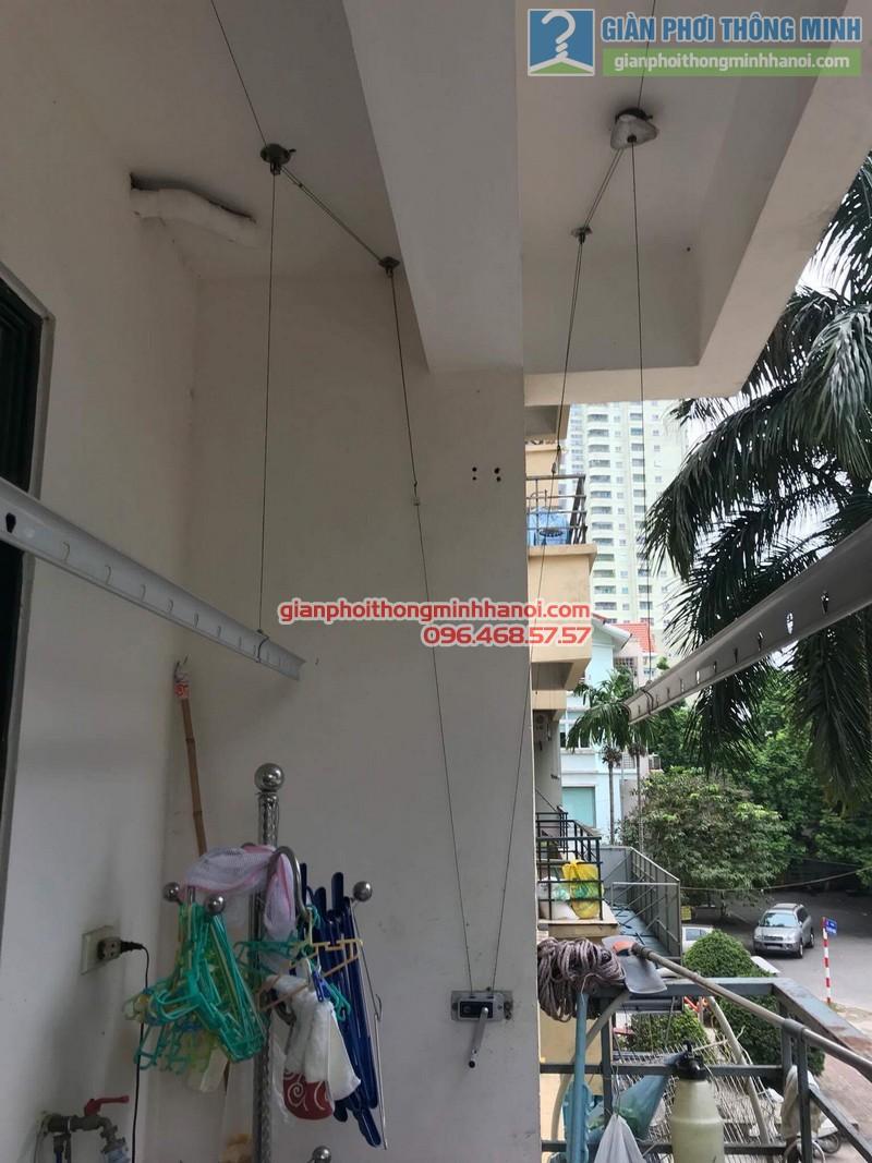 Sửa giàn phơi thông minh nhà cô Thể, chung cư An Lạc Mỹ Đình, Nam Từ Liêm, Hà Nội - 07