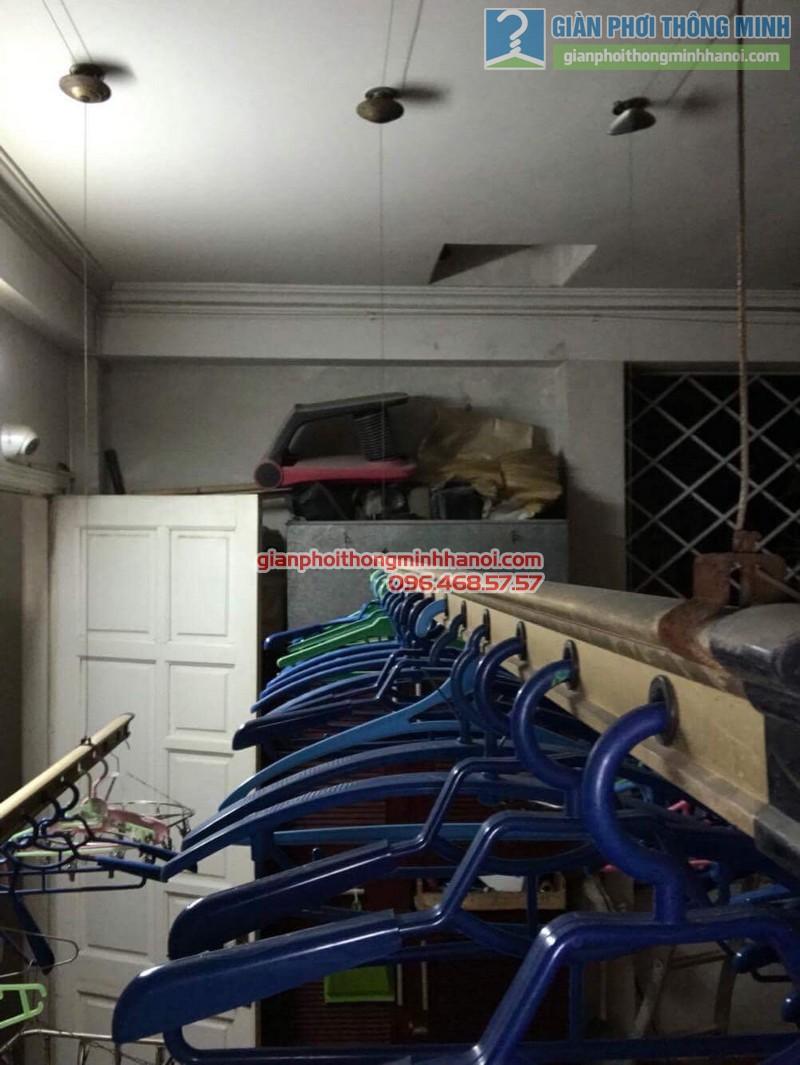 Sửa giàn phơi quần áo cho nhà anh Hội, chung cư 165 Thái Hà, Đống Đa, Hà Nội - 01