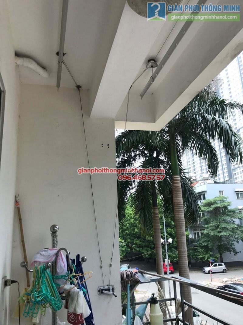 Sửa giàn phơi thông minh nhà cô Thể, chung cư An Lạc Mỹ Đình, Nam Từ Liêm, Hà Nội - 08