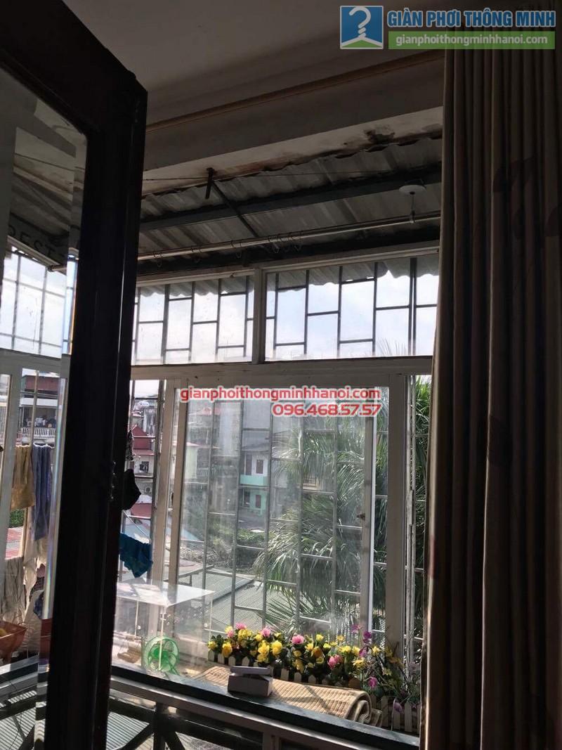 Sửa giàn phơi thông minh Hà Đông nhà chị Kim, ngõ 8, Lê Trọng Tấn - 04