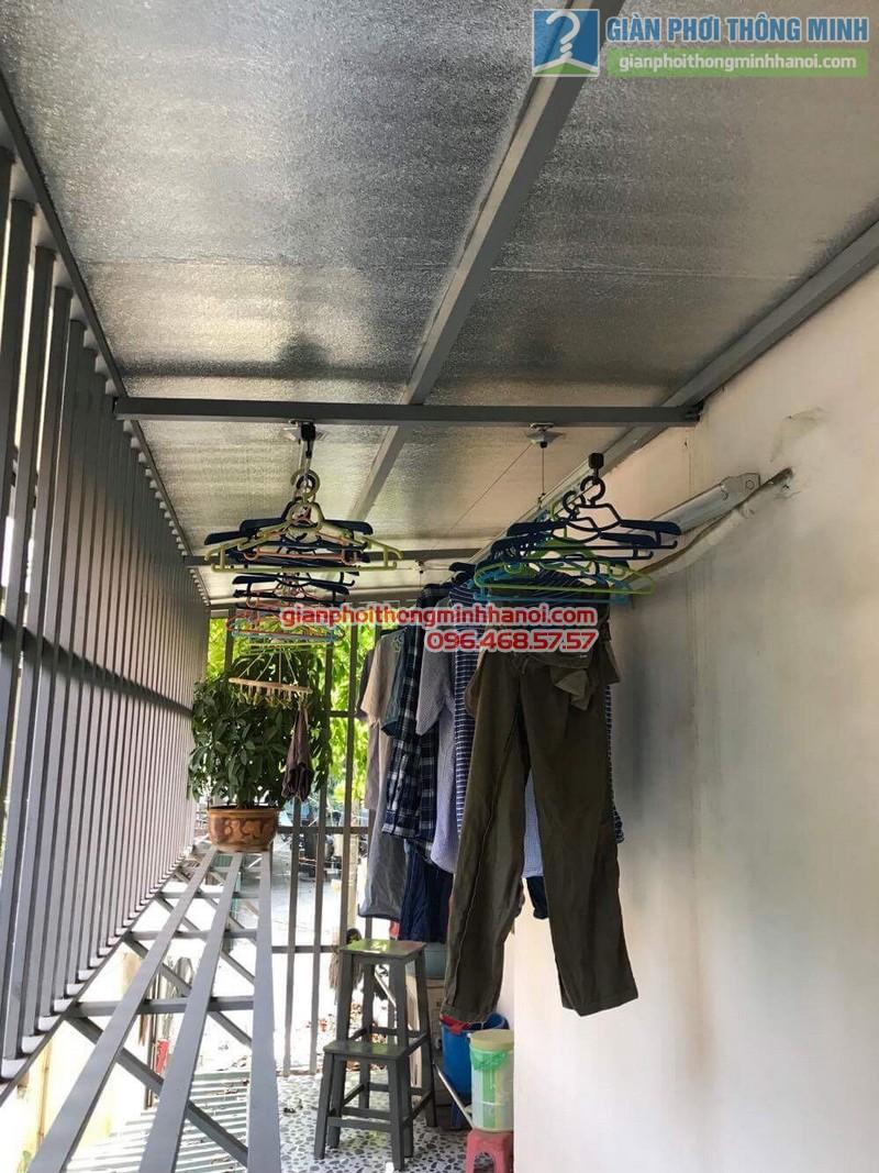 Sửa giàn phơi quần áo nhà chị Linh, ngõ 46 Phạm Ngọc Thạch, Đống Đa, Hà Nội - 01