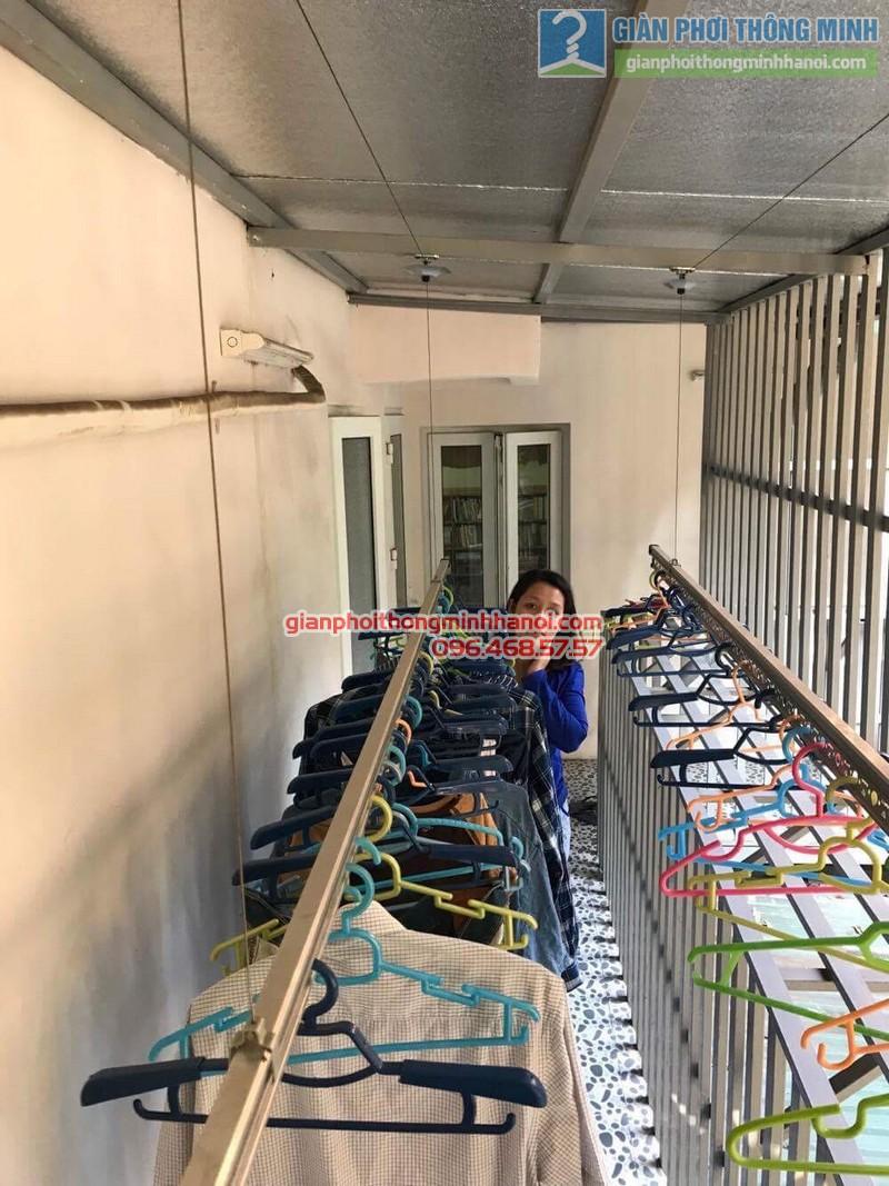 Sửa giàn phơi quần áo nhà chị Linh, ngõ 46 Phạm Ngọc Thạch, Đống Đa, Hà Nội - 05