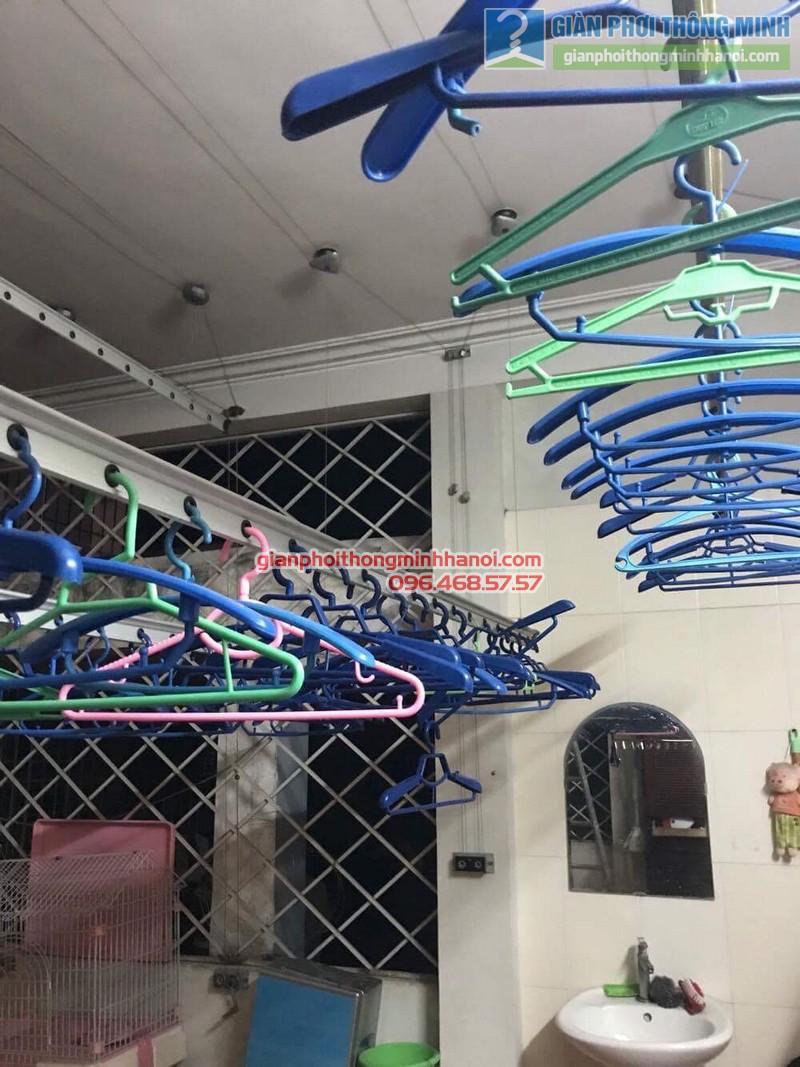 Sửa giàn phơi quần áo cho nhà anh Hội, chung cư 165 Thái Hà, Đống Đa, Hà Nội - 06