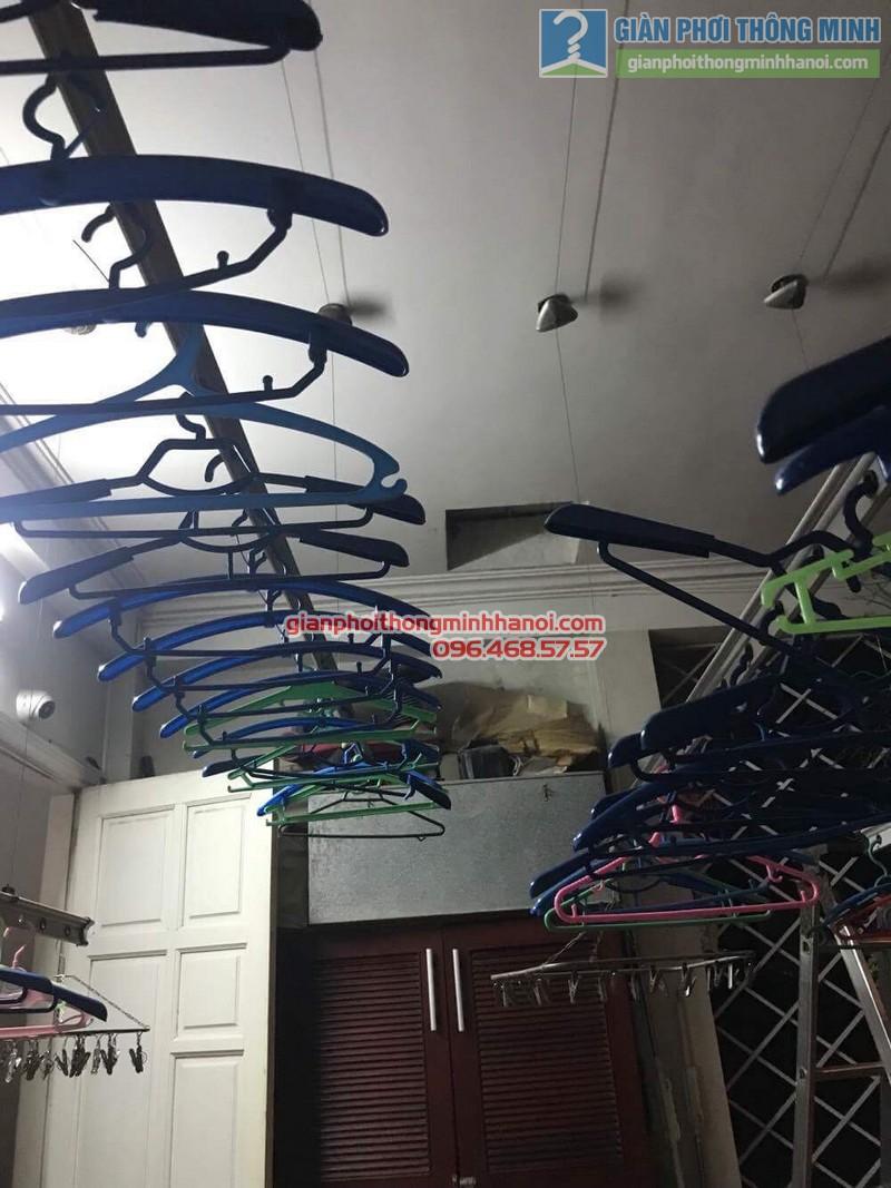 Sửa giàn phơi quần áo cho nhà anh Hội, chung cư 165 Thái Hà, Đống Đa, Hà Nội - 07