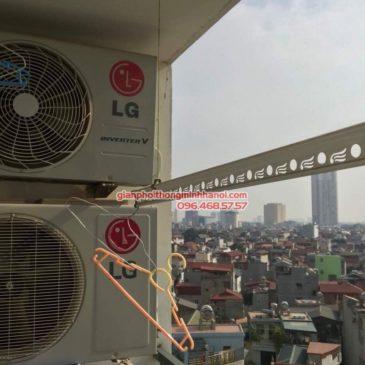 Lắp giàn phơi Hà Đông bộ GP999B nhà chị Hà, chung cư 143 Trần Phú