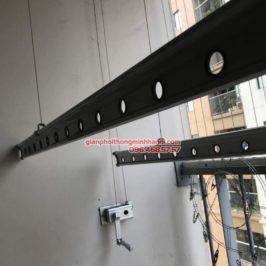 Sửa giàn phơi thông minh nhà chị Tuệ, P2209, chung cư Xuân Mai Tower, Hà Đông, Hà Nội